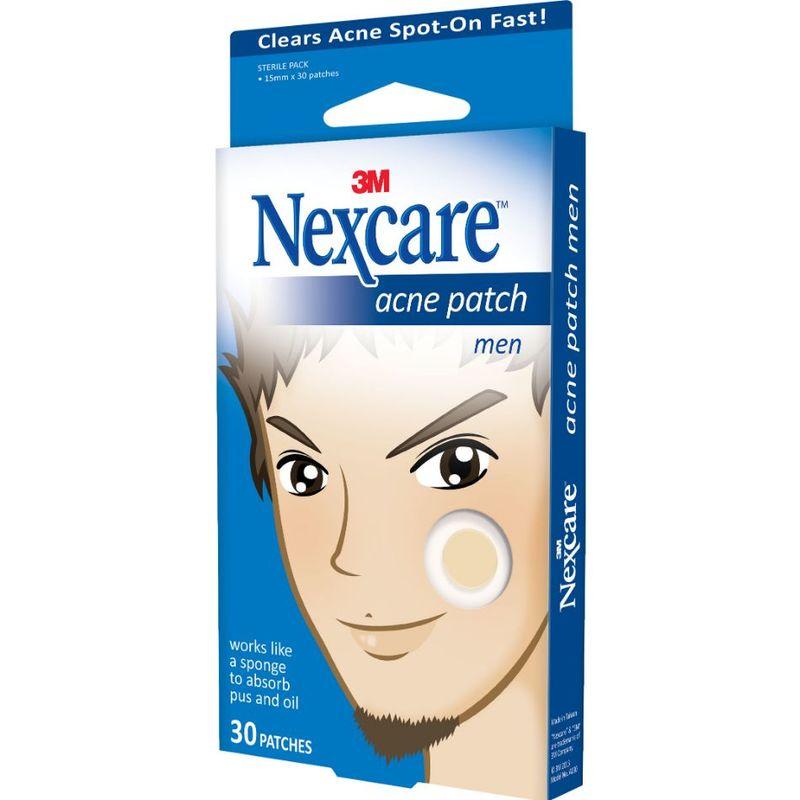 Nexcare Acne Patch for Men, 30pcs