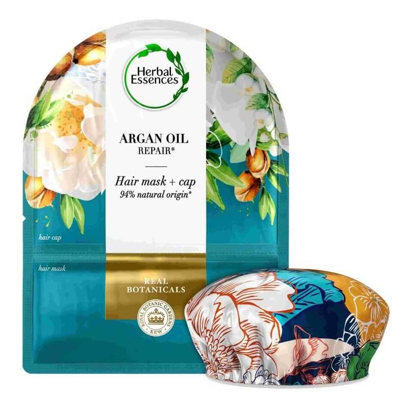 Herbal Essences Argan Oil Deep Repair Hair Mask & Cap 20ml