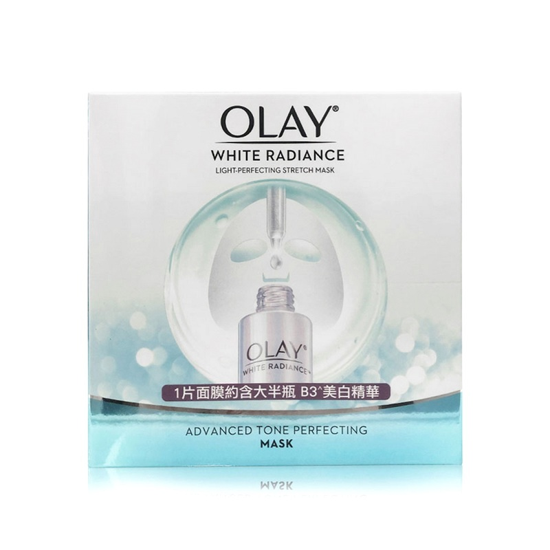 Olay White Radiance Light-Perfecting Stretch Mask 5pc