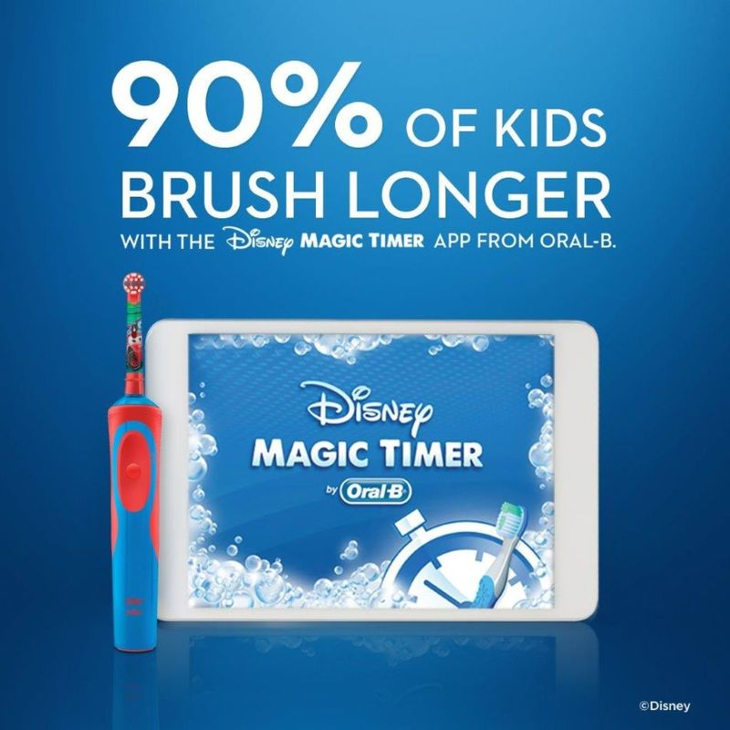 Oral-B Kids Cars Rechargeable Toothbrush