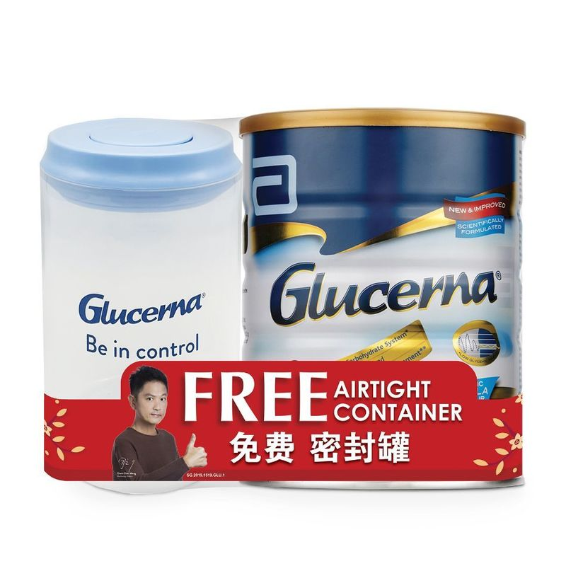 Glucerna  850g with FREE Airtight Container