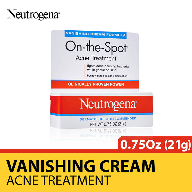 Neutrogena On-The-Spot Acne Treatment, 21g