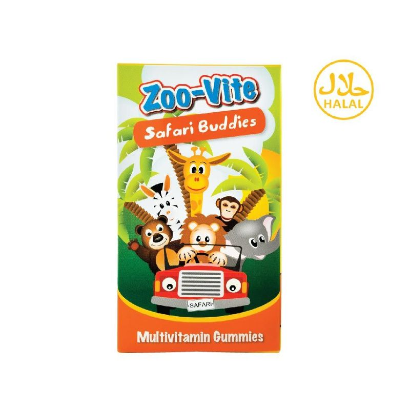 Nature's Essentials Zoo-Vite Safari Buddies 60gummies
