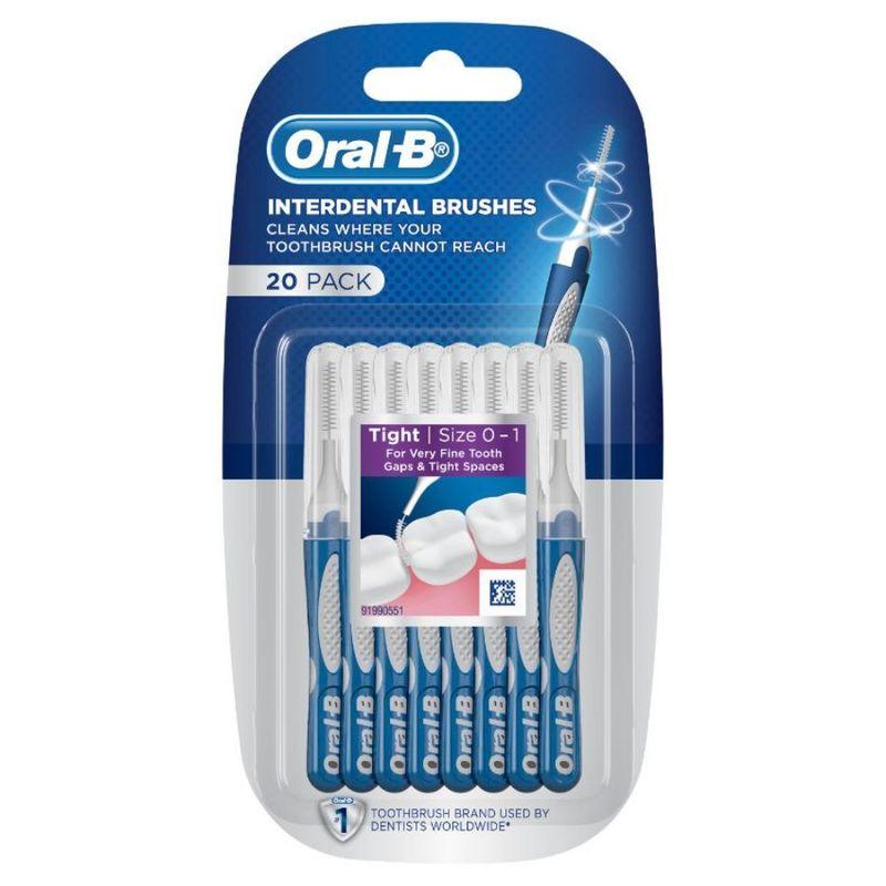 Oral-B Oral B Interdental Brushes, 20pcs
