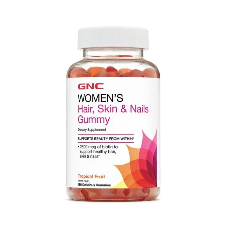 GNC Women's Hair, Skin & Nail Gummy 150pcs