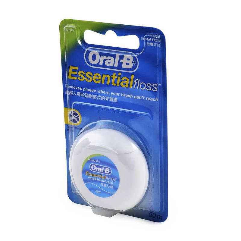 Oral-B Essential Floss Mint Flavour, 50m