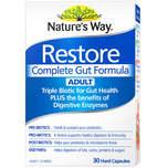 Nature's Way Restore Complete Gut Formula Adult 30S