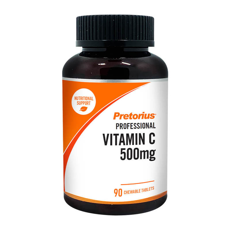 Pretorius Vitamin C 500mg Chewable, 90 tabs