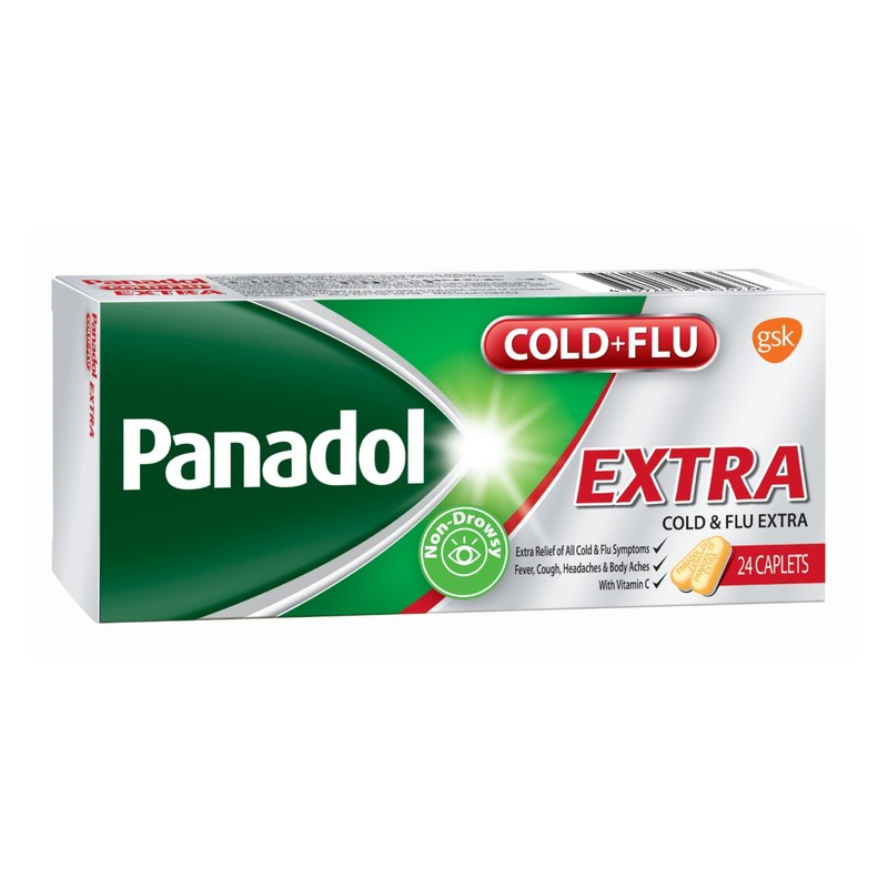 Panadol Cold and Flu Extra Tabulets 24pcs