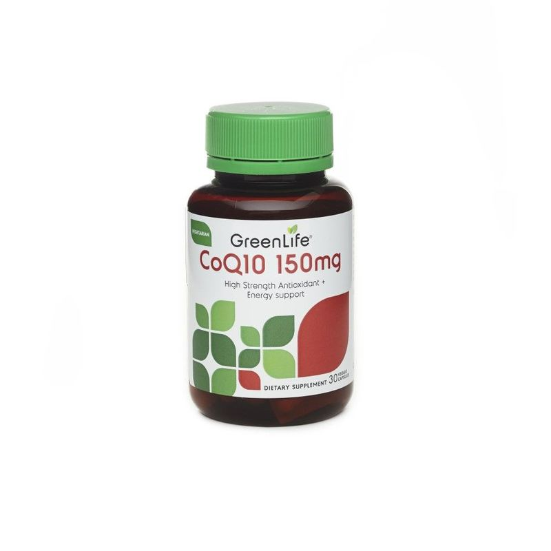 GreenLife CoQ10 150mg, 30 capsules