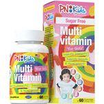 PNKids Multivitamins + Minerals Sugar-Free Girls, 60 Gummies