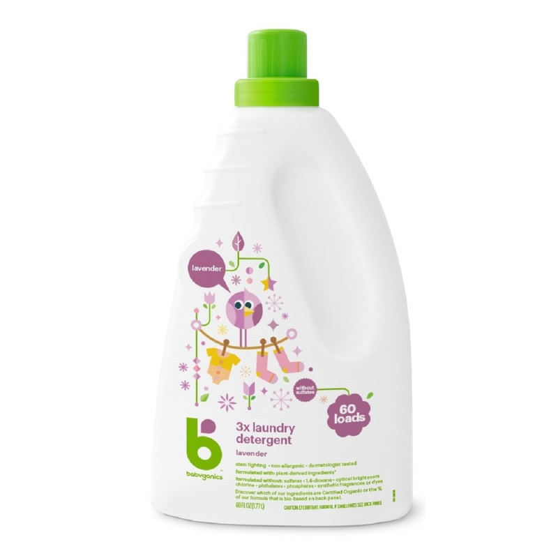 Babyganics Laundry Detergent (Lavender) 1770mL