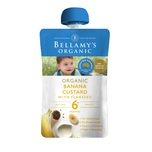Bellamys Bana Custard Flaxseed 120g