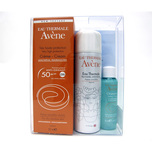 Avene High Protection Spf 50+ Fragrance Free Cream with Emulsion Thermal Spring Water & Gentle Gel Cleanser