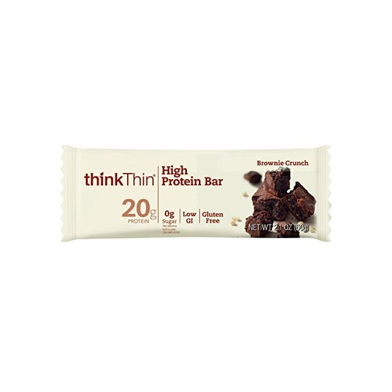 Think Thin High Protein Brownie Crunch Bar, 60g
