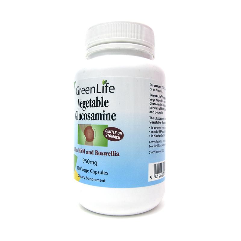 GreenLife Vegetable Glucosamine, 180 capsules