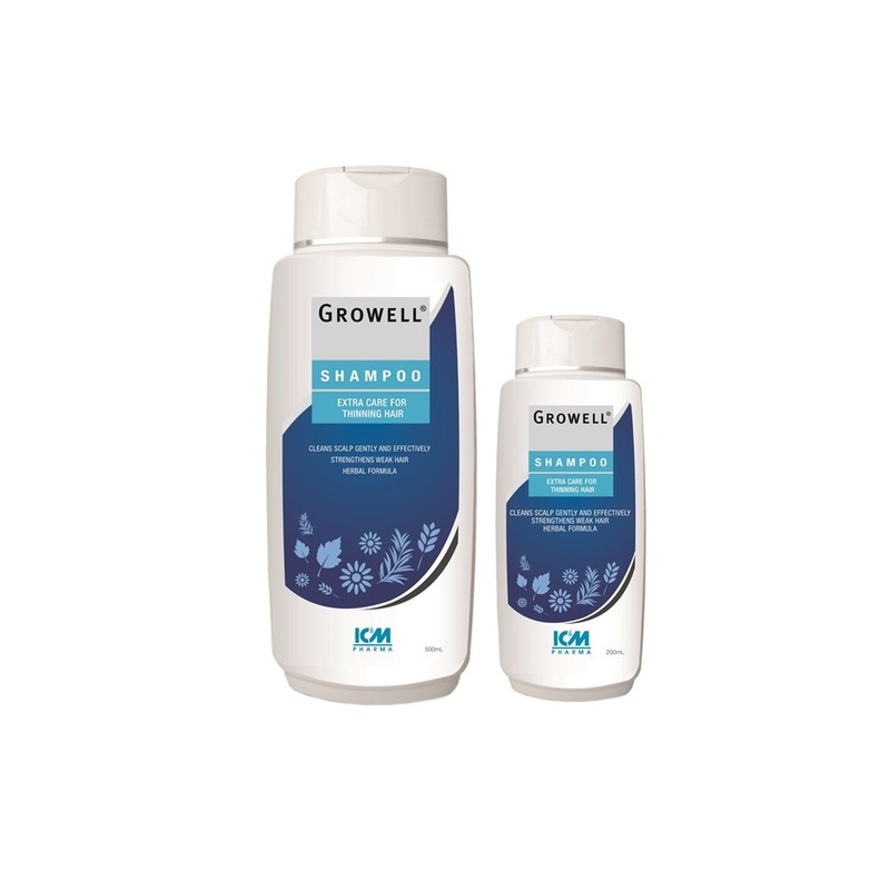 ICM Growell Shampoo Set, 500ml + 200ml