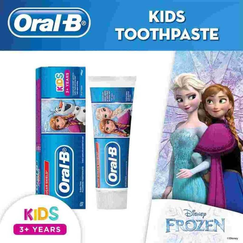 Oral-B Frozen Kids 3+ Years Toothpaste 92g