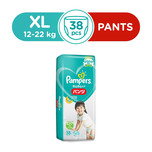 Pampers Baby Dry Pants XL, 38pcs