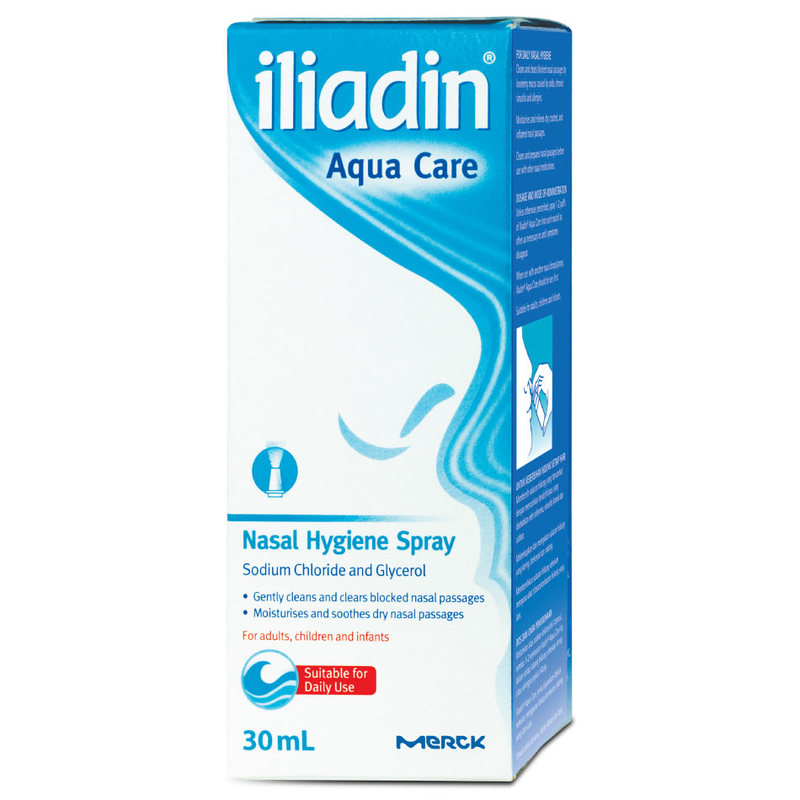 Iliadin Aqua Care Nasal Hygiene Spray, 30ml