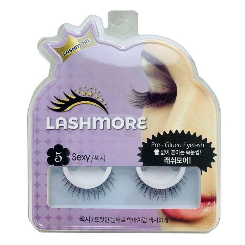 Lashmore #5 Sexy Pre-Glued Eyelash