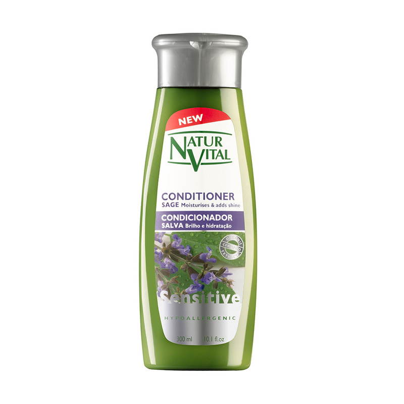 Natur Vital Sensitive Hair Conditioner Sage, 300ml