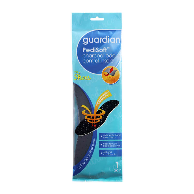 Guardian PediSoft Charcoal Odour Control Insole, 1 pair
