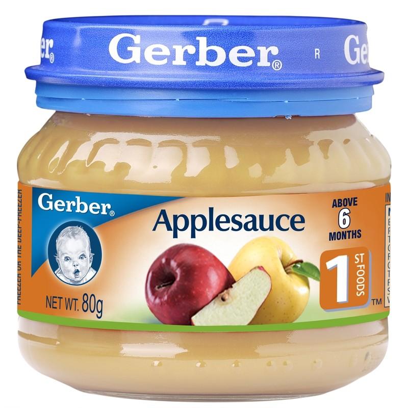 Gerber 1st FOODS Applesauce, 80g