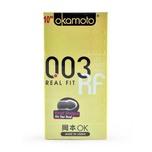 Okamoto 003 Real Fit Condoms, 10pcs