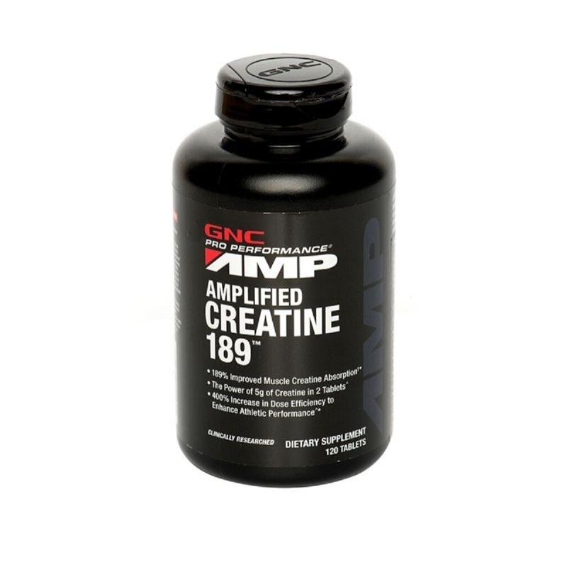 GNC AMP  Creatine 120pcs