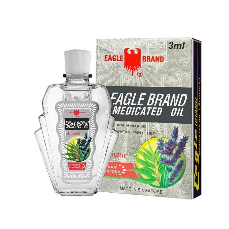 Eagle Medicated Oil Aromatic, 3ml