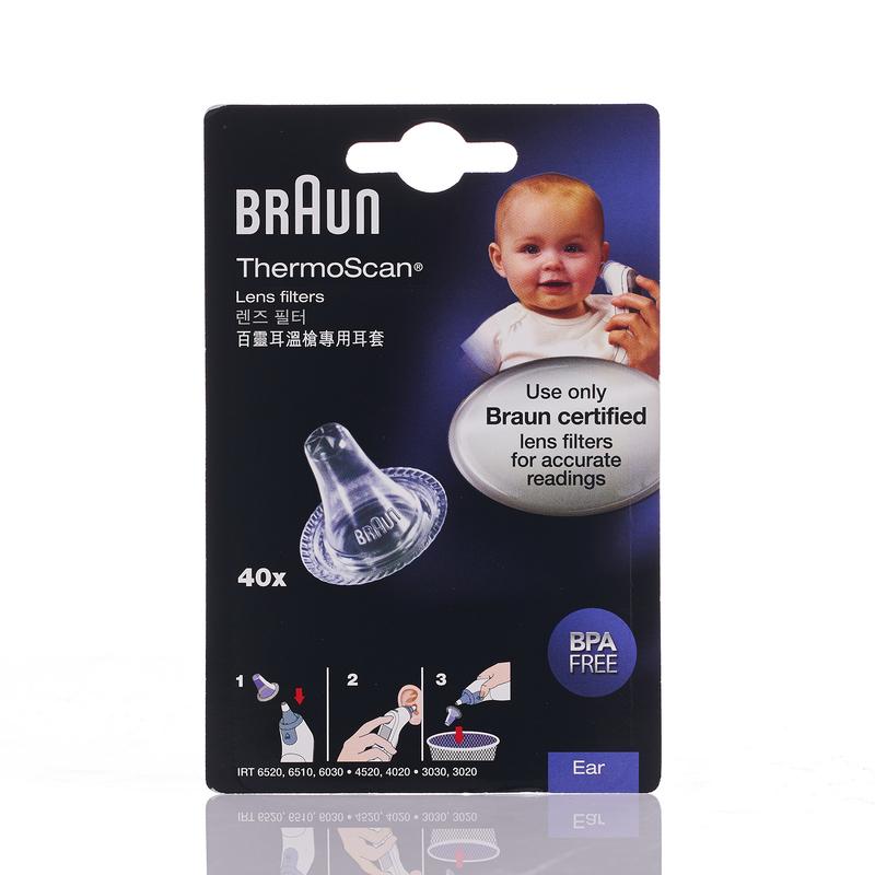 Braun ThermoScan Lens Filters 40pcs
