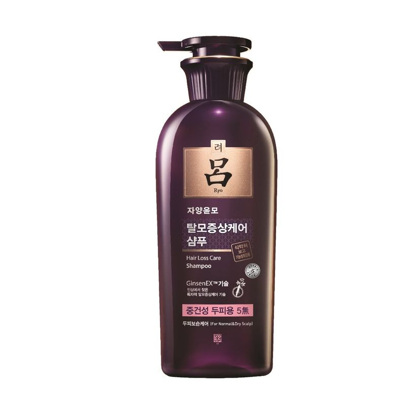 Ryo Hair Loss Care Shampoo For Dry&Normal Scalp 400mL