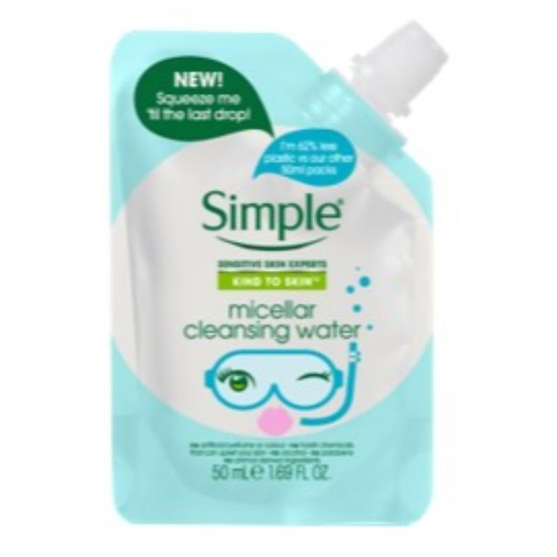 Simple Micellar Cleansing Water Pouch 50ml