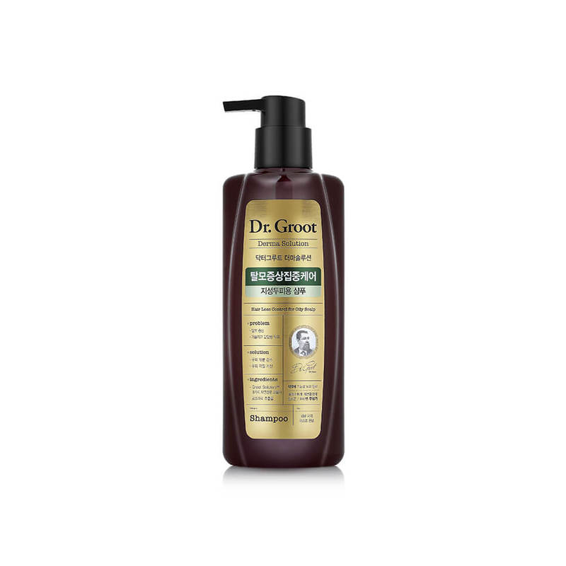 Dr. Groot Hair Loss Control Shampoo for Oily Scalp, 400ml