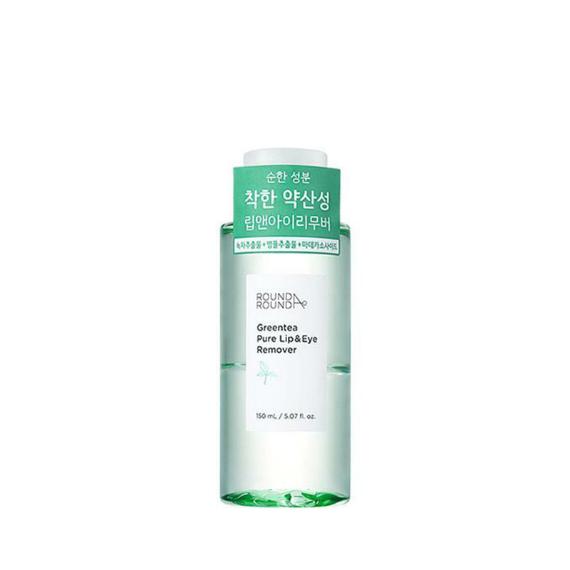 Round A'Round Greentea Pure Lip & Eye Remover 150ml