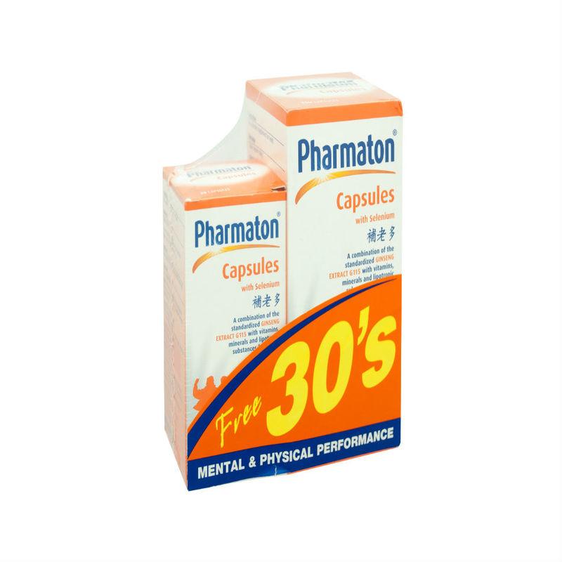 Pharmaton Capsules with Selenium, 100 capsules + 30 capsules