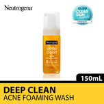 Neutrogena Deep Clean Acne Foaming, 150ml