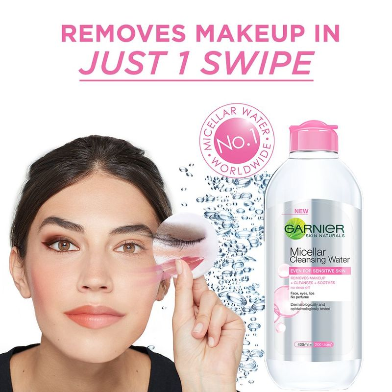 Garnier Skin Naturals Micellar Cleansing Water (For Sensitive Skin) 400ml