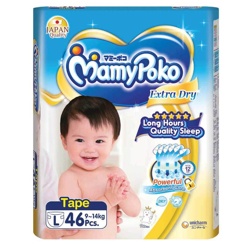 Mamy Poko Extra Dry Tape L46