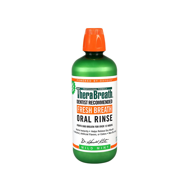 TheraBreath Regular Mouthwash, 473ml