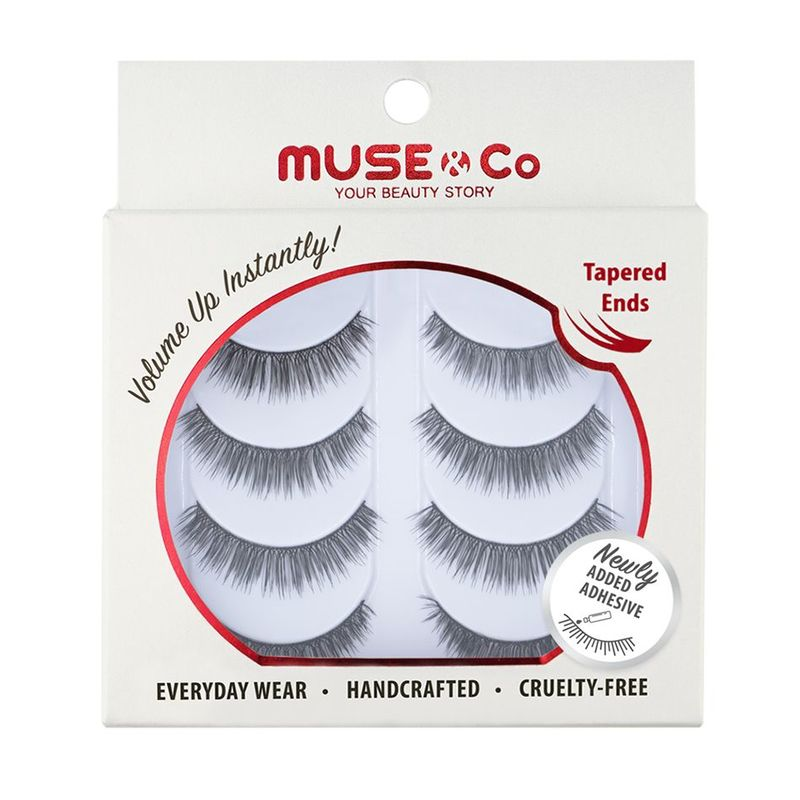 MUSE & Co - Multipack Eyelashes (4 pairs) - Darling