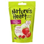 Nature's Heart Freeze-Dried Strawberry Crisps, 15g