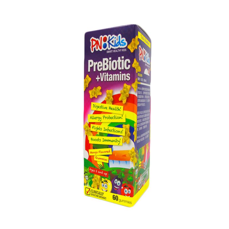 PNKids Prebiotic + Vitamins, 60 Gummies
