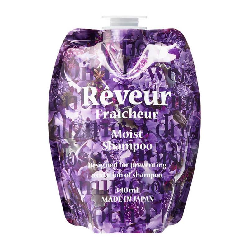 Reveur Fraicheur Moist Shampoo Refill, 340ml