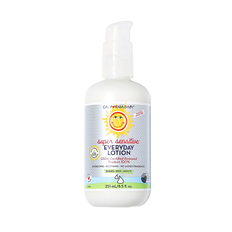 California Baby Super Sensitive Everyday Lotion, 251ml
