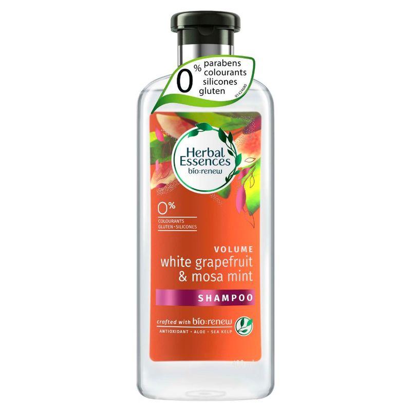 Herbal Essences VOLUME White Grapefruit and Mosa Mint Shampoo, 400ml