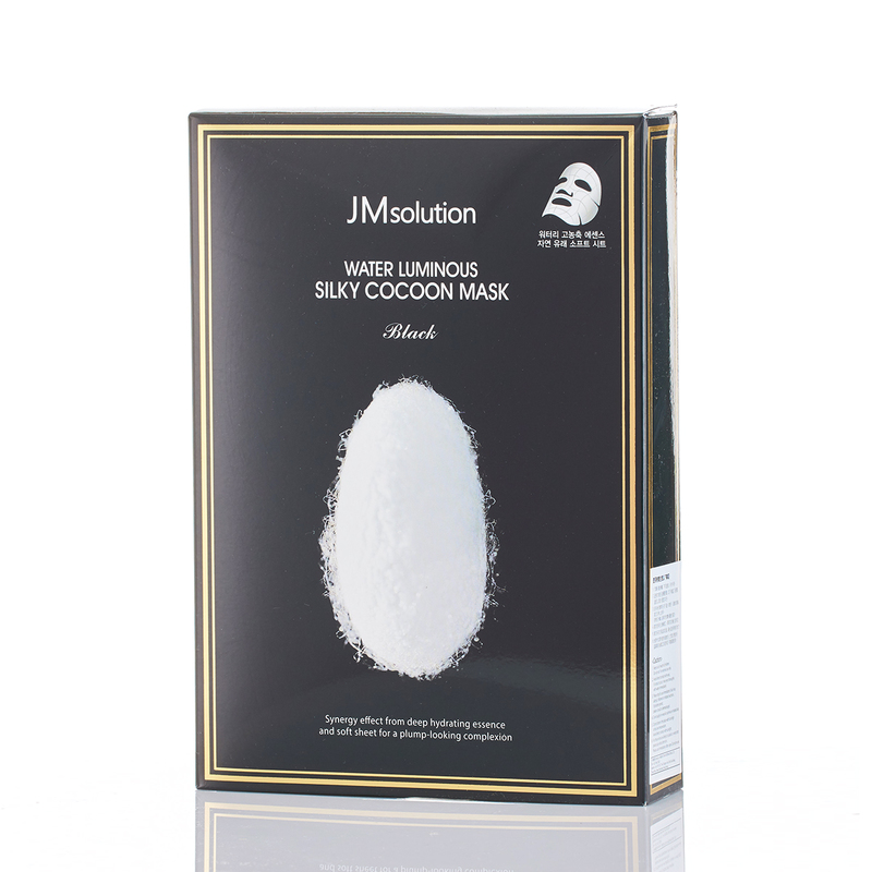 Jm Solution Water Luminous Silky Cocoon Mask 10pcs