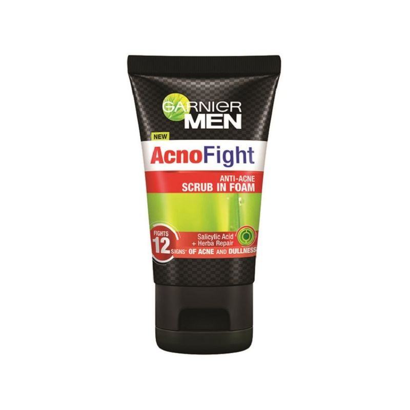 Garnier Acno Fight Anti-Acne Scrub In Foam 100ml