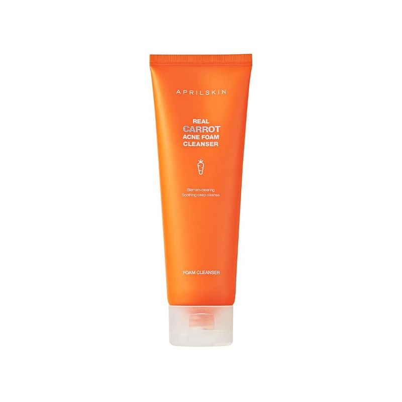 Aprilskin Real Carrot Acnefoam Cleanser